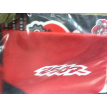 Funda Asiento Honda Xr 250 Rojo/naranja/negra