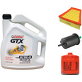 Combo 1 Aceite, Filtro Aceite, Aire, Combustible Gol Trend