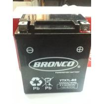 Bateria Original Bronco Ytx7lbs Tecnologia Agm Libre Mant.