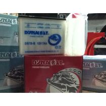 Bateria Orig Dynavolt Yb7b-b 12v 7ah 150/60/130 + Izq.