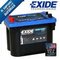 Bateria Exide Ep450 Agm Orbital Similar Optima Blue Top