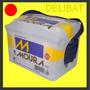 Baterias Moura 12x75 Mi24kd - Libre Mantenimiento