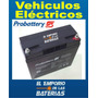 Bateria Probattery 12v22ah Scooter Electrico Moto Lucky Lion