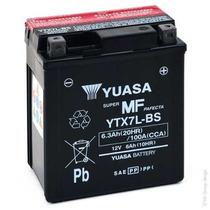 Bateria Yuasa Ytx7l Bs Twister Tornado Ybr 250 Brava Vc 150