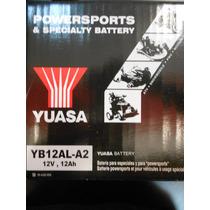 Bateria Yuasa Yb12al A2 Yuasa Oficial Urquiza Motos