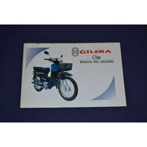 Gilera C50 Manual De Usuario Original