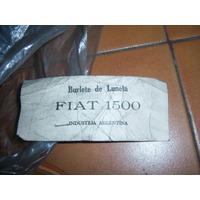 Burlete Vidrio De Luneta Fiat 1500 Coche