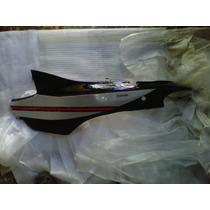Cacha Lateral Zanella Zb110 G1 Negro Izquierdo Con Calco