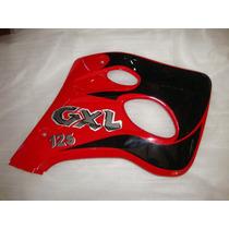 Protector Tanque Guerrero Gxl 125 Rojo Derecho- Dos Ruedas