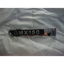 Insignia Cacha Lateral Derecha Guerrero Gmx 150- Dos Rueda