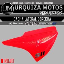 Cacha Lateral Derecha Motomel Cg 150 S2 Rojo Original Um!!!