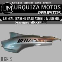 Cacha Lateral Trasera Bajo Asiento Blitz 125 Original Izq Gr