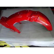 Guardabarro Delantero Guerrero Econo G90 Rojo - 2r