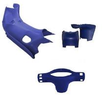 Kit Cubre Piernas Corven Energy 110cc Azul - 2r