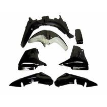 Kit De Plasticos Honda Cg 150 7 Piezas Negro En San Juan Mot