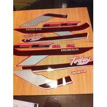 Kit De Calcos Para Honda Cg Today