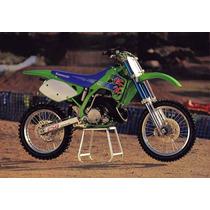 Kit Plasticos Kx 125 250 Cachas Guardabarros Kawasaki 92 93