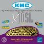 Cadena Bicicleta Kmc 10 Velocidades X10 Sl Gold Oro Ti-n