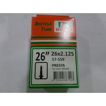 Camara Duro 26x2.125 Valbula Presta 52 Mm