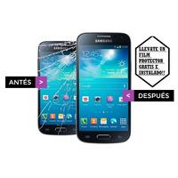 Pantalla Vidrio Samsung Galaxy S3 S4 Con Colocacion Gel Uv