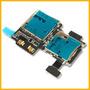Flex Samsung I9500 Galaxy S4 Modulo Simcard Memoria Original