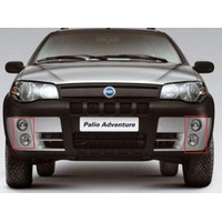 Aro De Faro Auxiliar Fiat Palio Adventure Strada 2004 A 2008