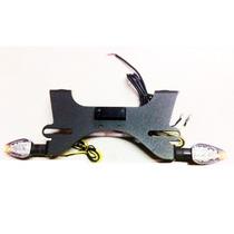 Porta Patente Fender Eliminator Kawasaki Er6n Luces De Giro
