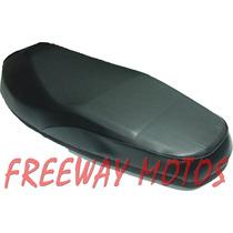 Asiento Gilera Smash/trip/zb110 Negro En Freeway Motos !!