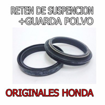 Reten + Guardapolvo Honda Crf 450 09-14 Original Fas Motos
