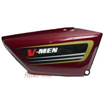 Cacha Lateral Der Honda V Men 125 Bordo Orig Freeway Motos
