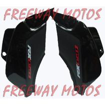 Juego Cachas Zanella Rx 150 Negro En Freeway Motos!!!