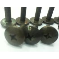 10 Tornillos De Cachas Y Plasticos 6x1,25 Por 22mm
