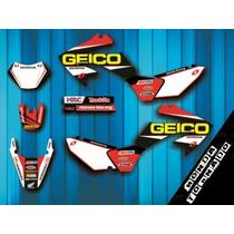 Kit Grafica Laminada Honda Xr250 Tornado Mates Enviosgratis!