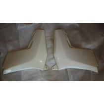 Juego De Cachas Laterales Jawa 350 Style Blancas - 2r