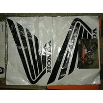 Kit De Calcos Cachas Honda Xr 250 Tornado Negro