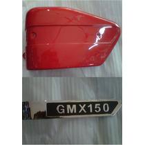 Combo Cahca Lateral Guerrero Gmx 150 Roja Izquierda - 2r