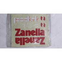 Juego De Calcos Zanella Pocket 50cc Roja - 2r