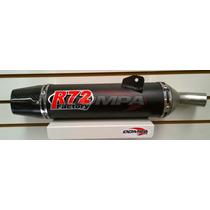 Silenciador R72 Factory Bajaj Rouser 200 Ns, Escape Dompa