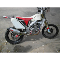Escape R72 Completo Para Crf 450 Rally Slip-on