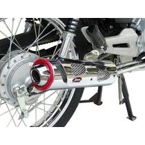 Honda 150 Titan Esd - Escape Deportivo Tunning 07 Cromado