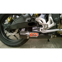 Escape Competicion R72 Aluminio Con Power Bajaj Rouser 200ns
