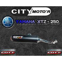 Escape Cott Rs7r Yamaha Xtz 250 Cuotas S/int - City Motor