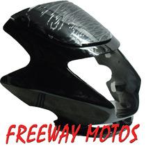 Mascara Honda Storm Carenado Negro En Freeway Motos!!