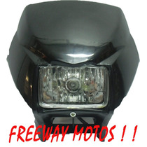 Mascara Honda Bross/ Motomel Skua Negro Freeway Motos!!!!