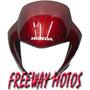 Mascara Honda Falcon Nx400 Bordo Original En Freeway Motos !