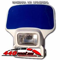 Mascara Cubre Optica Honda Xr 250 600 650 Blanco Motos440