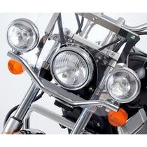 Soportes Universal Faros Adicional Motos Custom Choper Drag