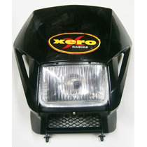 Cupulina Farol Delantero Honda Xr 250 Tornado Negro Completa