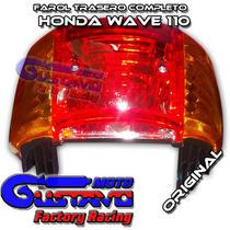 Farol Trasero Completo Honda Wave 110 Original Motogustavo
