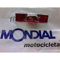 Faro Porta Patente Custom Mondial Hd Ruta 3 Motos San Justo